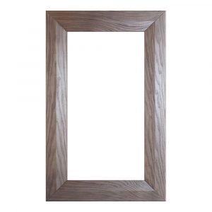 Мебельный фасад АФИНА-45 витрина массив + краситель + лак