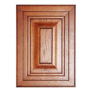 Мебельный фасад БИБЛИО-45-КЛАССИКА ПЛЮС из массива древесины + краситель + матовый лак