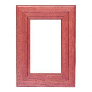 Мебельный фасад БИБЛИО-45 витрина из массива древесины + краситель + матовый лак