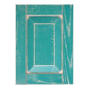 Мебельный фасад ФОРВАРД-ИТАЛЬЯНО из массива древесины + матовая краска + патина