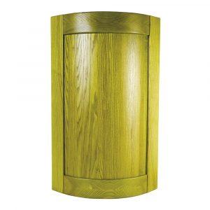Мебельный фасад ФОРВАРД-R радиусный из массива древесины + краситель + матовый лак