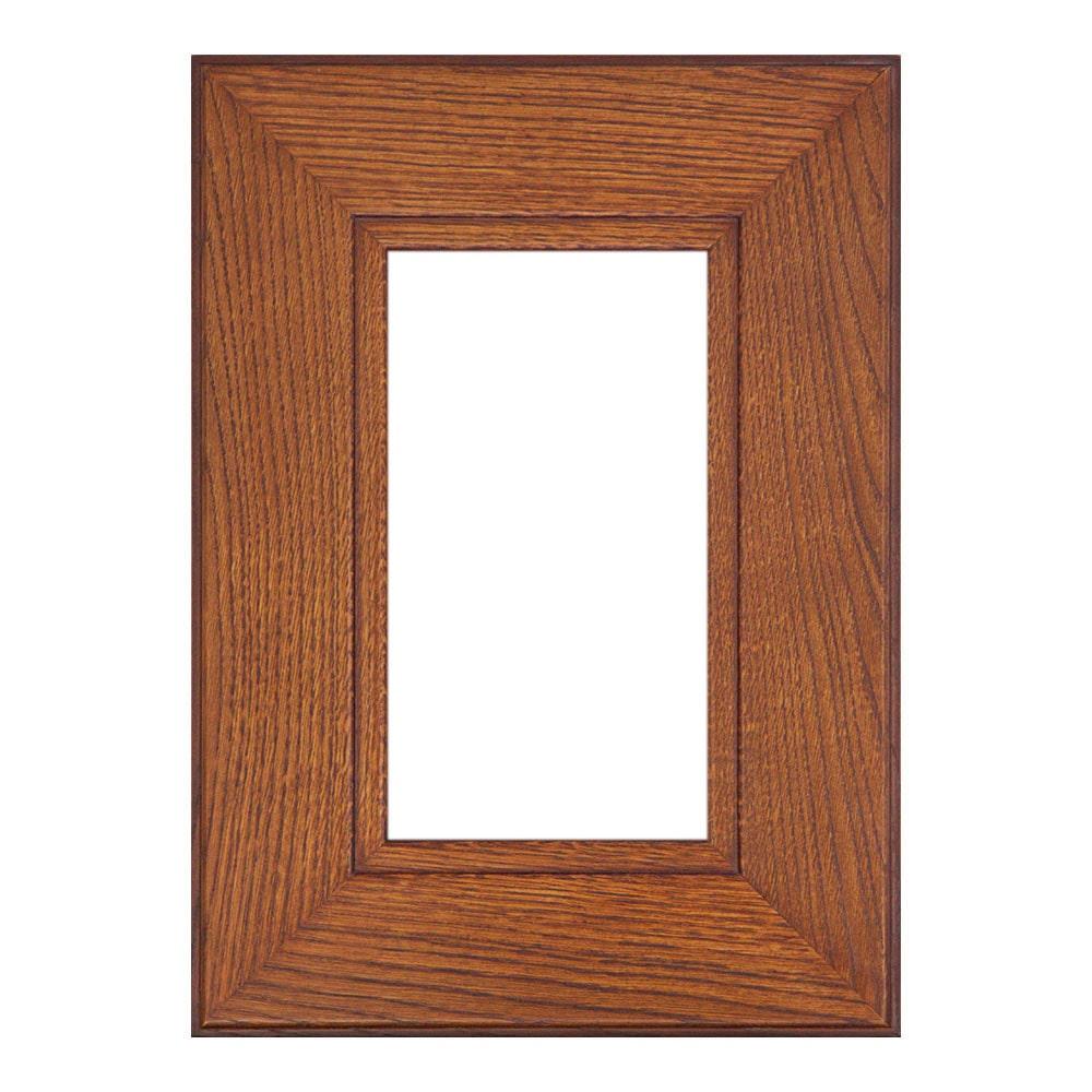 Мебельный фасад КОЛОМНА-45 витрина из массива древесины + краситель + матовый лак + патина