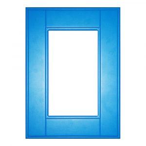 Мебельный фасад КАНТРИ витрина МДФ