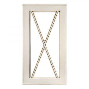 Мебельный фасад НОРД витрина МДФ со шпросами 4